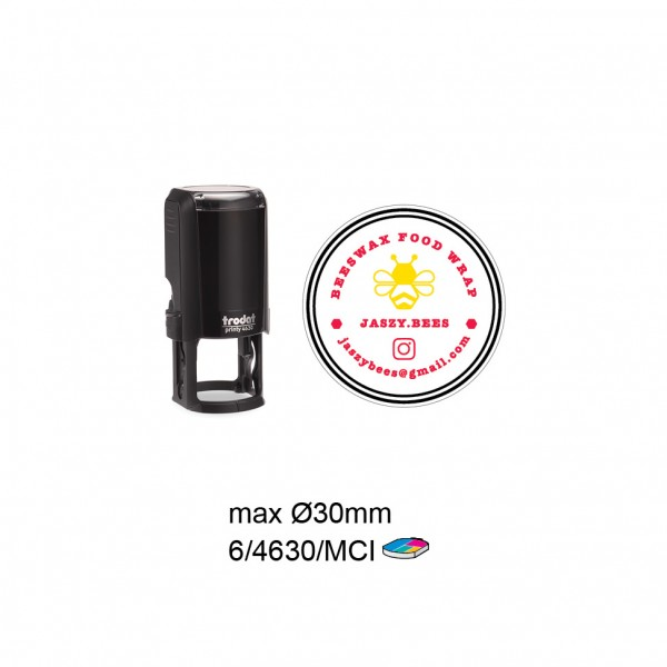 Multi Color Self Inking Stamp 4630, 30MM